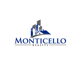 Monticello Realty logo design