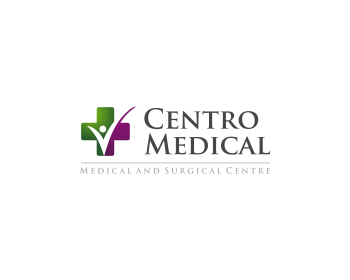 Centro Medical logo design