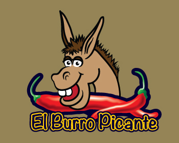 Logo design for El Burro Picante/The Spicy Donkey