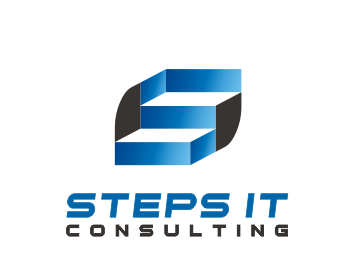 Steps It Consulting logo design