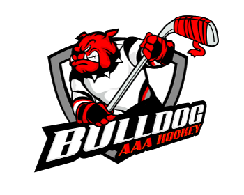 Bulldog AAA Hockey logo design