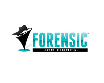 Forensic Job Finder logo design