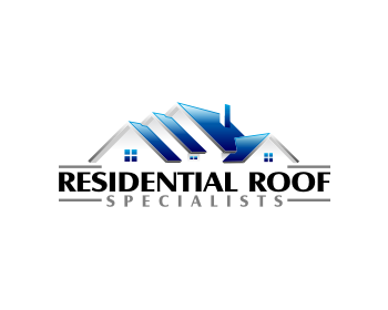 Residential Roof Specialists logo design