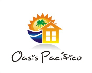 Oasis Pacifico logo design
