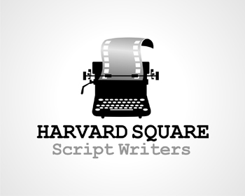Harvard Square Script Writers logo design
