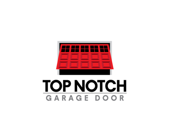 Logo design entry number 62 by regaltouch top notch for Top notch garage door