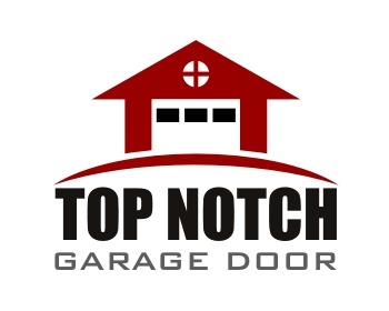 Logo design for Top Notch Garage Door