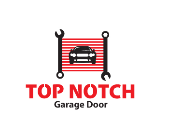 Top notch garage door logo design contest logo arena for Top notch garage door