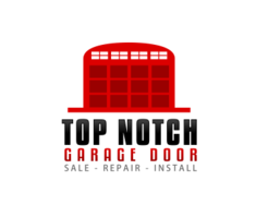 Logo design entry number 44 by made in czech top notch for Top notch garage door