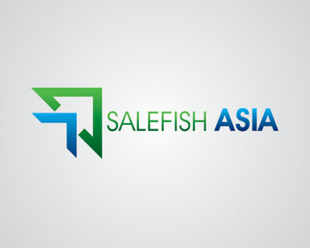 Salefish Asia logo design
