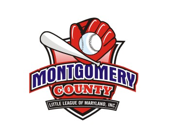 Montgomery County Little League of Maryland, Inc. logo design