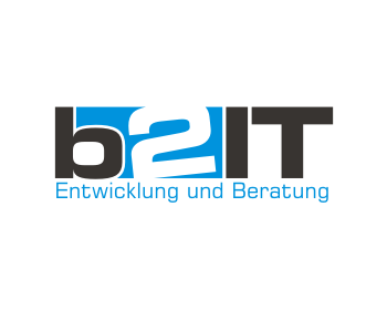 Logo design for b2 IT