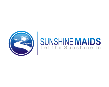 Sunshine Maids logo design