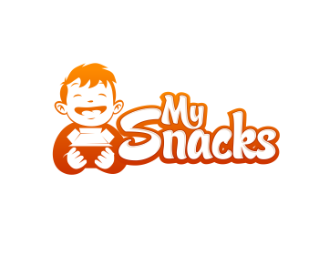 My Snacks logo design