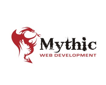 Mythic logo design