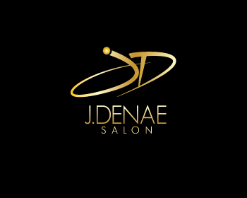 j. denae salon logo design