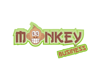 Monkey Business logo design