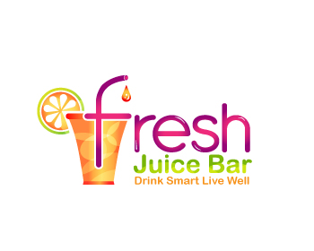 Logo design entry number 102 by quanVuart | Fresh Juice ...