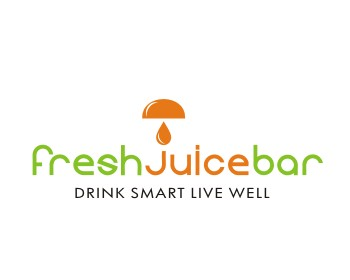 Logo design for Fresh Juice Bar