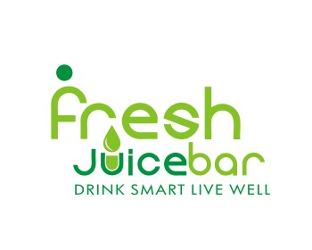 Restaurant logo design for Fresh Juice Bar