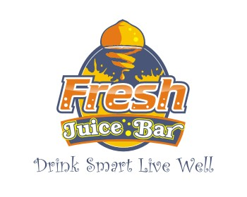 Fresh Juice Bar logo design