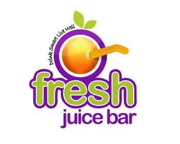 Logo design entry number 84 by adrianus | Fresh Juice Bar ...