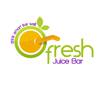 Logo design entry number 92 by adrianus | Fresh Juice Bar ...