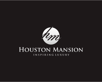 Houston Mansion logo design