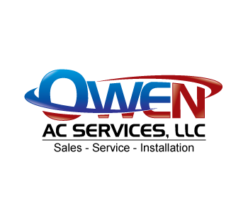Owen AC Services, LLC logo design