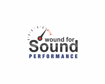 Wound For Sound Performance (and repair) logo design