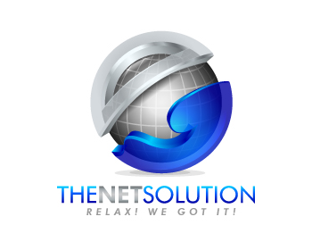 The NET Solution logo design