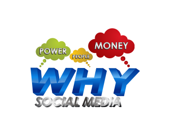 WHY Social Media logo design