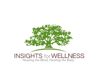 Insights for Wellness logo design