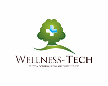 Wellness-Tech logo design