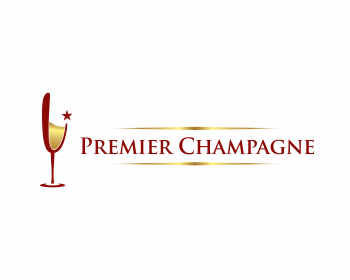 Logo design for Premier Champagne