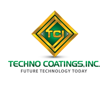 Techno Coatings, Inc. logo design