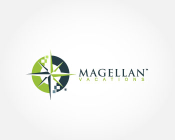 Magellan Vacations logo design