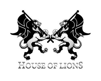 House of Lions logo design