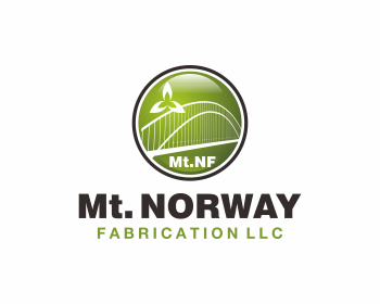 Mt. Norway Fabrication LLC logo design