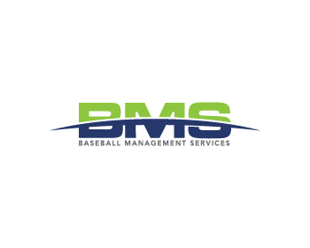 BASEBALL MANAGEMENT SERVICES or BMS logo design
