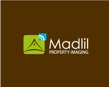 Madlil Property Imaging logo design