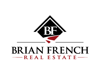 Brian French Real Estate logo design
