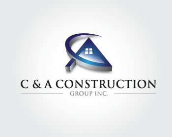 C & A Construction Group Inc. logo design