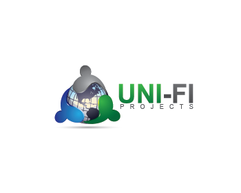 Uni-fi Project logo design