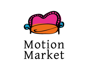 Motion Market logo design