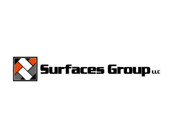Surfaces LLC logo design