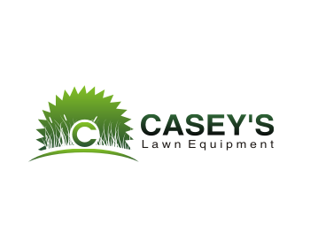 Casey's Lawn Equipment logo design