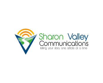 Sharon Valley Communications logo design