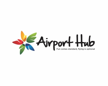 AIRPORT HUB logo design