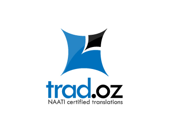 trad.oz logo design
